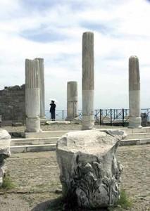 Columns, Pergamon